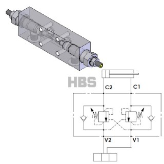 HBS - Product Categories Dual overcenter valve for open center  0b7bf073537