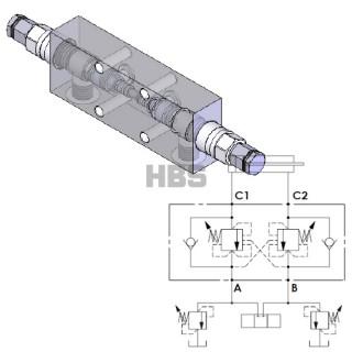 "Flangeable dual overcenter valve ""165 CC SERIES"" – 3 8″G – 2.7 1 17b525bcc8c"