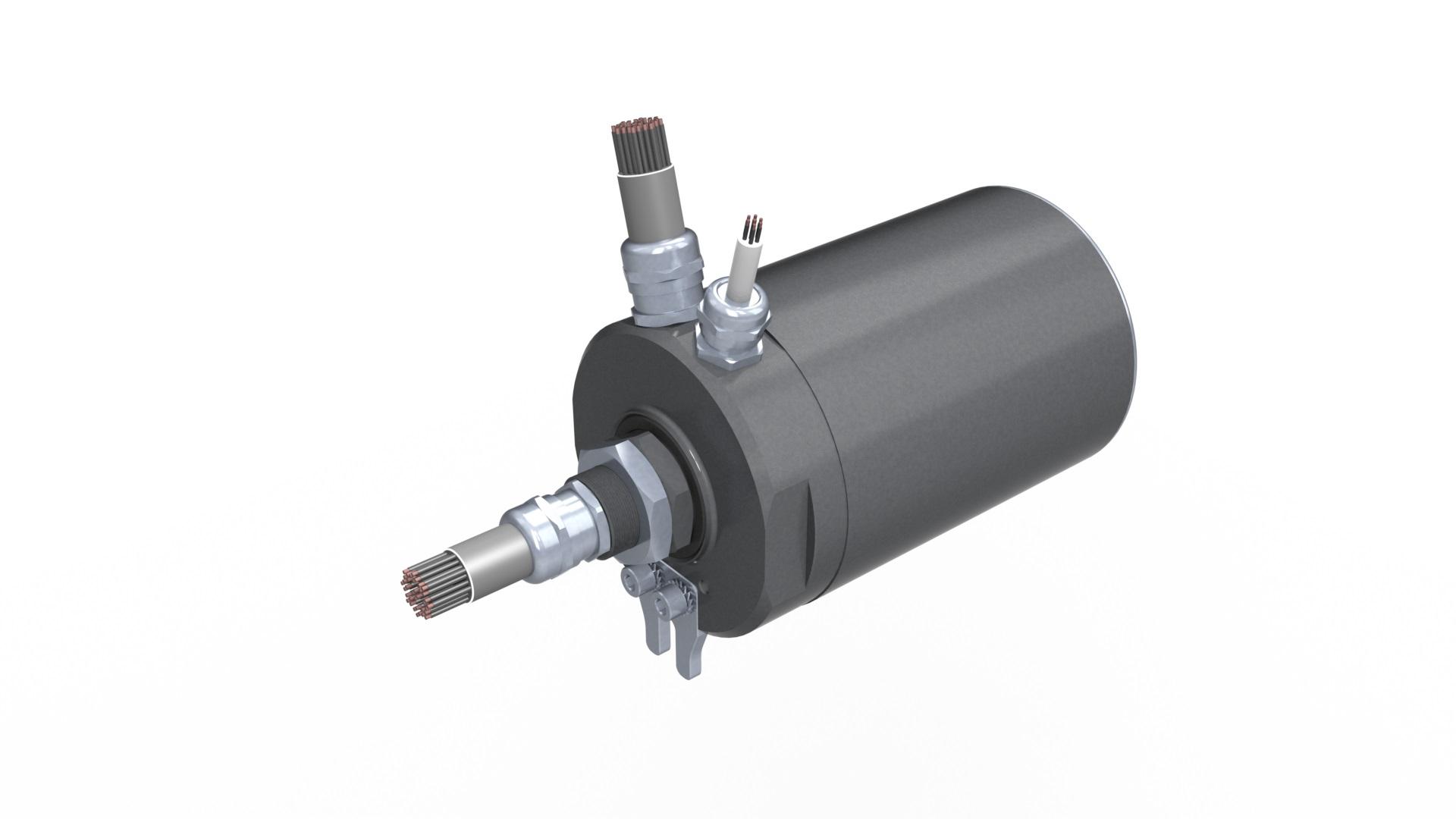 Distribuidor rotativo elétrico