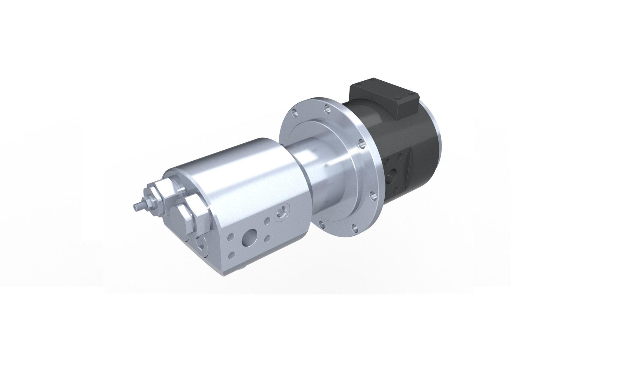Distribuidor rotativo hidráulico
