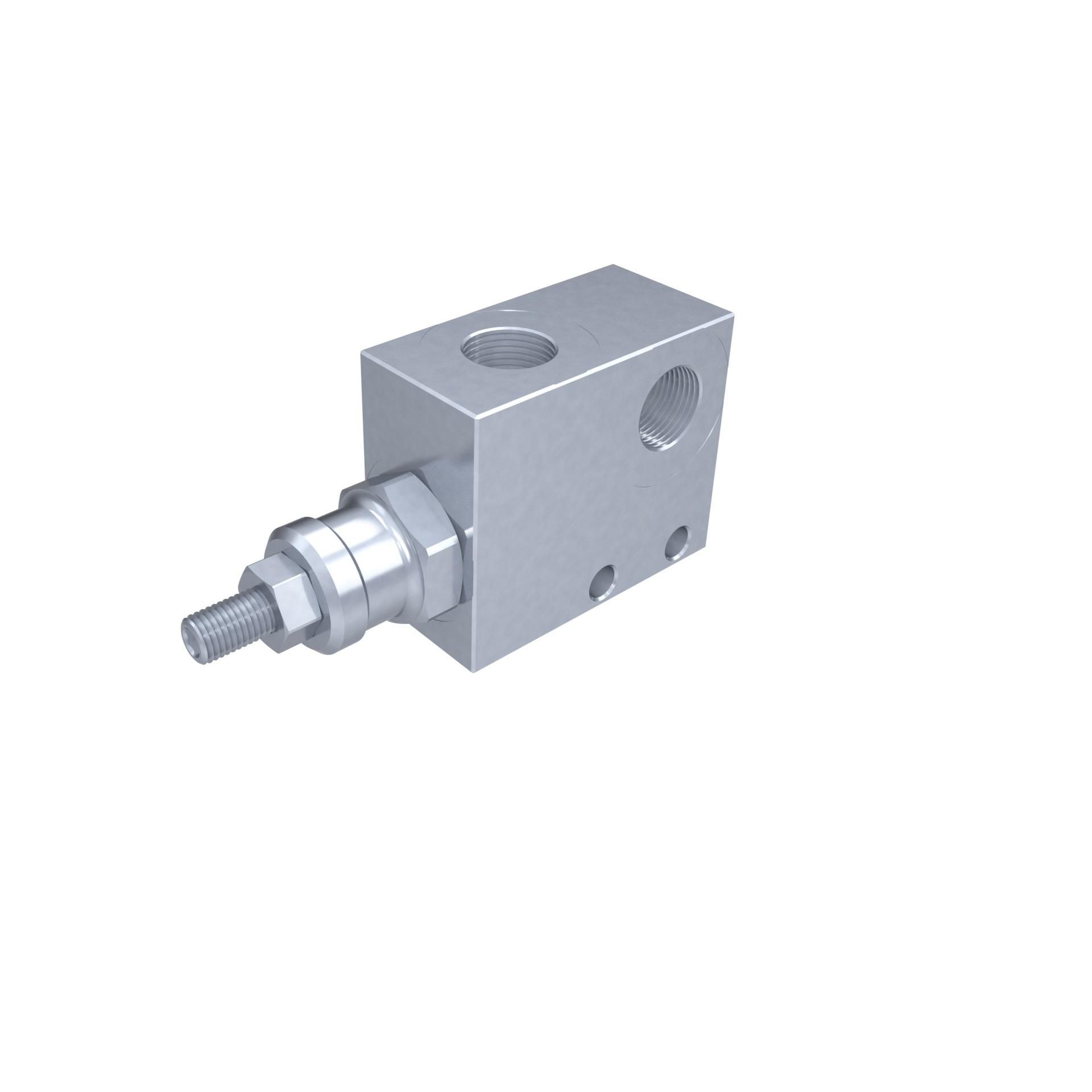 Válvula limitadora de pressão simples