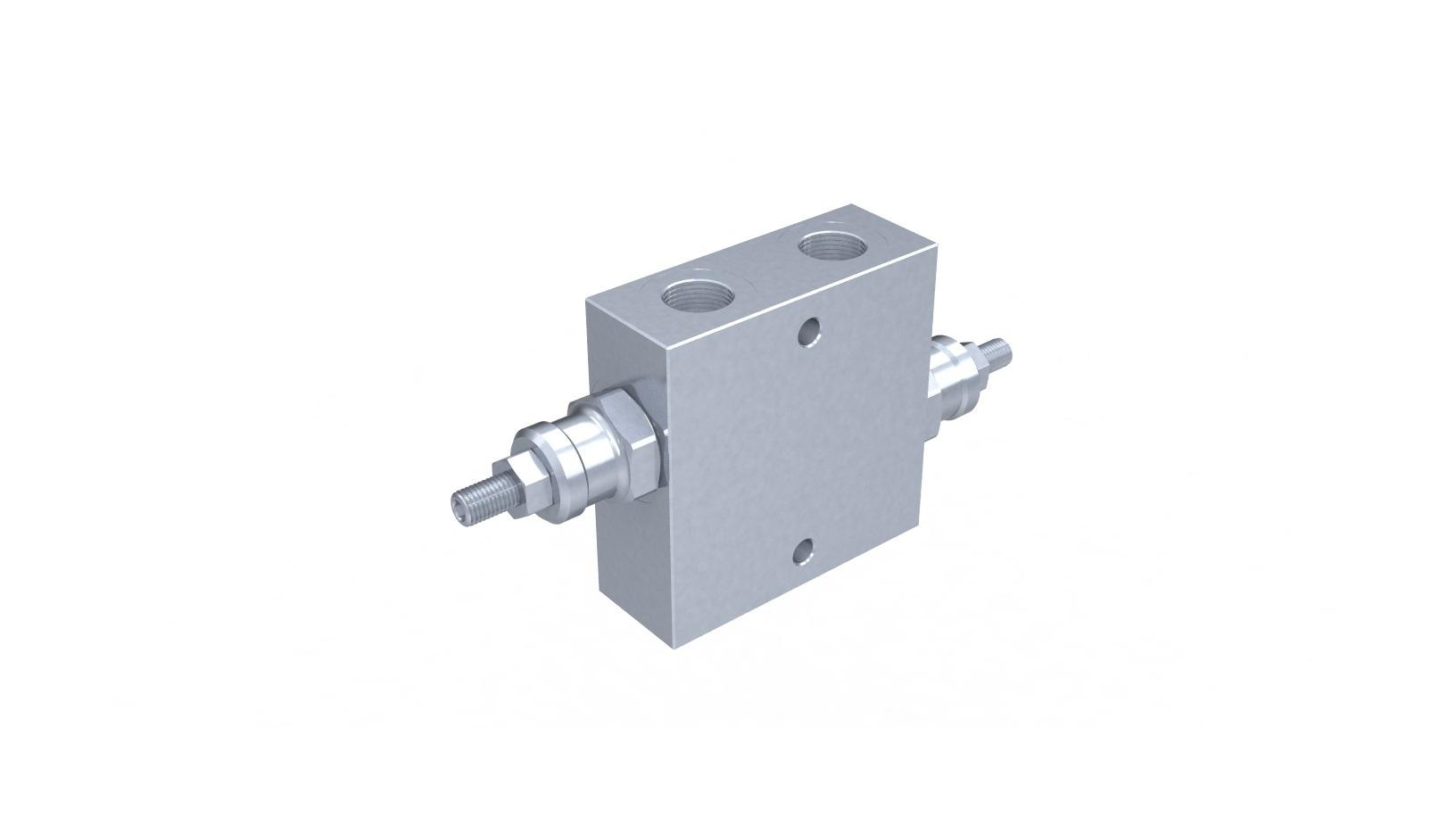 Válvula limitadora de pressão dupla