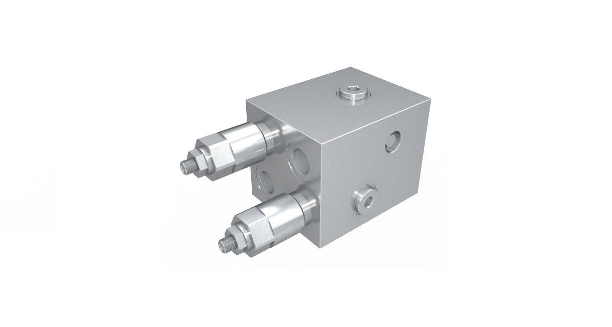Válvula de controle de rotação